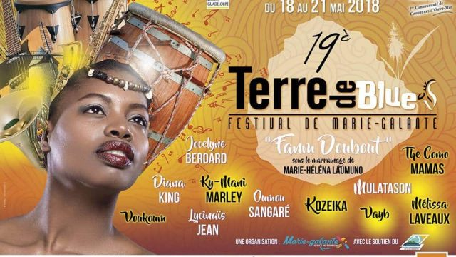 Marie-Galante Blues Earth Festival from May 2019