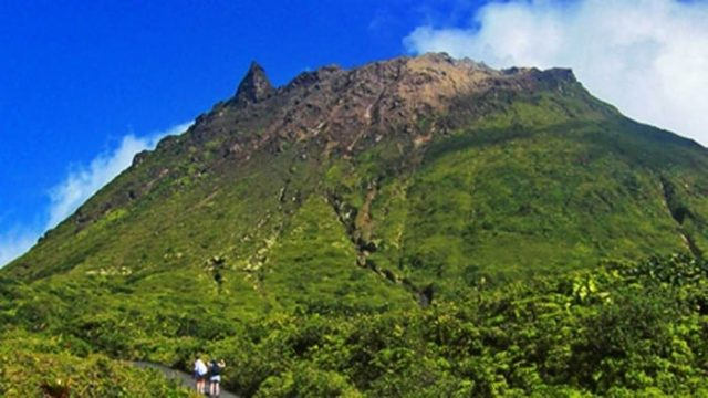 Guadeloupe's Active Volcano The Soufriere