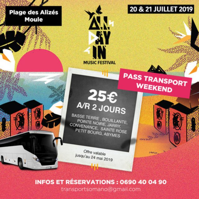 The All Day Music Festival 2019