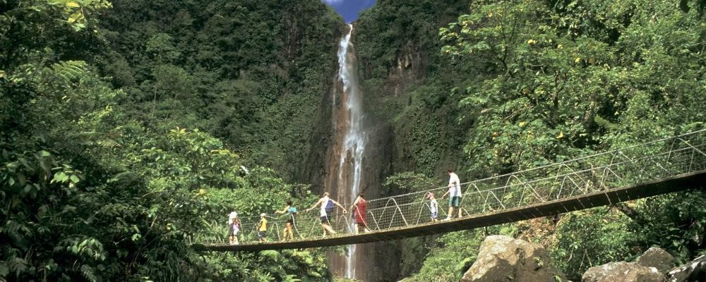 Visit The Beautiful Waterfalls Of Carbet