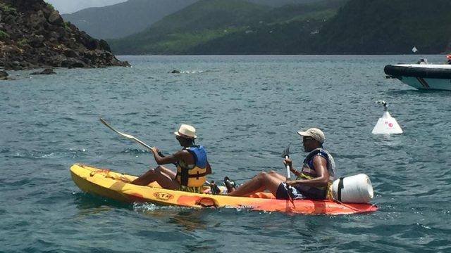 Kayaking To The Cousteau Reserve