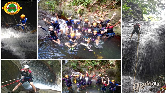Canyoning Canopee Guadeloupe