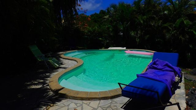 Creole Villa With Tropical Garden And Swimming Pool
